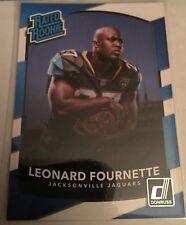 Leonard Fournette Donruss RR #319 AQUEOUS TEST *RARE*