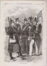 1870 PRUSSIAN INFANTRY MILITARY UNIFORMS
