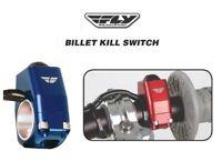 Motorcycle Dirtbike Kill Switch Nitrous Switch BLUE Yamaha YZ WR 125 200 250 300