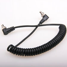 Male M-M Flash Pc Sync Cable for Canon 7D 5D Ii 1D 1Ds