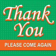 "Thank You Sign 8"" x 8"""