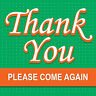 """Thank You Sign 8"""" x 8"""""""