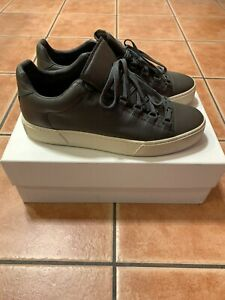 Balenciaga Arena Leather Low Sz 44 11 Thick Sole Sneaker Shoe MSRP $545 Classic