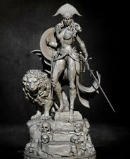 1/24 75mm Resin Figure Model Kit Sexy Girl Goddess of War Unpainted Unassambled