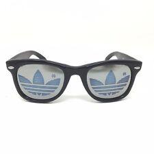 Vtg 1980s Adidas NOS Sunglasses Black Trefoil Run DMC Deadstock Vintage D5B