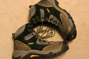 Men's Keen Steel Toe Boots Size 11.5 In Used Condition