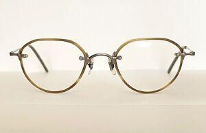 Oliver Peoples Op-620 Japan Made Rare Rx Eyeglass Frame Olive OTP 46-20 Vintage