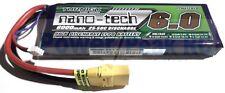 Turnigy Nano-Tech 6000mAh 2s 7.4v 25c 50c LiPo - Free Traxxas HPI Deans EC3 XT60