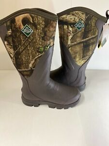 Muck Woody Grit Camo WDC-INF Hunting work fishing Boots Mens Rubber