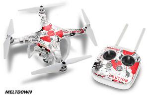 DJI Phantom 3 Drone Wrap RC Quadcopter Decal Sticker Custom Skin Accessory MLTDN