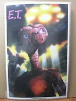 Vintage Poster E.T. the Extra-terrestrial the Movie  1982 Inv#381
