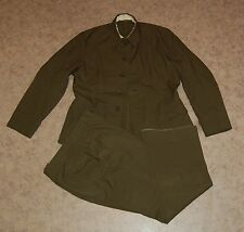 Red Army Jacket Pants Suit Russian Soviet Combat Battle Military Field Uniform