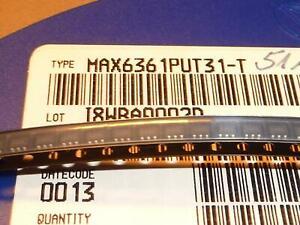 MAX6361PUT31-T Maxim Überwachungsschaltungen SOT23 25 St. Gurt
