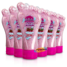 6x The Foot Factory Softening Smoothing Exfoliating Foot Care Scrub Berry 180ml