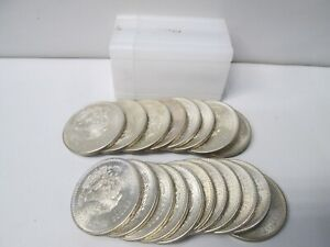 1948 Mexico Silver Cinco 5 Pesos Uncirculated Coins Complete ROLL