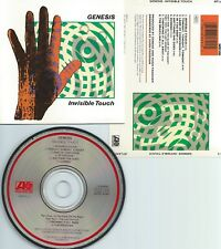 GENESIS-INVISIBLE TOUCH-1986-JAPAN-ATLANTIC / VICTOR RECORDS 81641-2-CD-MINT-