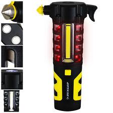 Dunlop Taschenlampe Arbeitslampe Lampe Licht Nothammer Gurtmesser KFZ Werkzeug
