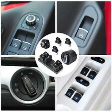 Headlight Mirror Window Switch Control Set Fits VW Golf Jetta Passat Rabbit GTI