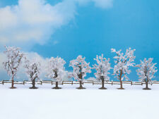 NOCH 25075 échelle H0, TT, N, Z, Arbres d'hiver, 7 Pièces, 8-10cm haut # in ##