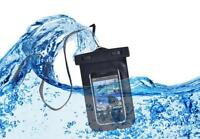 Universal Waterproof Phone Case Dry Pouch Bag with Lanyard for iPhone Samsung W