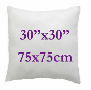 Cushion Pads Soft Inserts Inners Fillers Hollowfibre Pack of 4 - 30 x 30 Inches