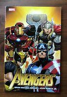 Marvel AVENGERS Volume 1 Brian Michael Bends John Romita Jr TPB 2011 1st print