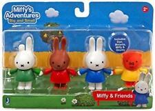 Miffy's Adventures Miffy & Friends Toy Figures Dan Grunty Mel Kids Figurine Set