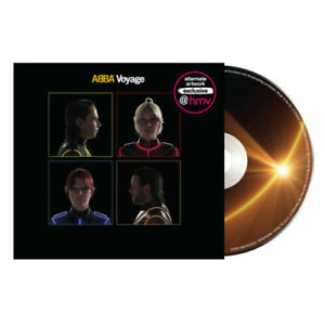 ABBA - VOYAGE  - UK  ALTERNATE SLEEVE - NEW & SEALED CD PRE ORDER