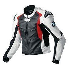 BMW MotoGP Moto Chaqueta De Cuero Moto Chaqueta de cuero de motociclista Racer Sports