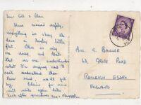 FPO 958 Postmark 1958 Bad Lippspringe Postcard 448b