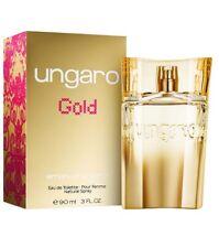 EMANUEL UNGARO GOLD profumo donna edp eau de parfum 90ml NUOVO profumi woman