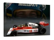 James Hunt - 30x20 Inch Canvas Formula One Picture F1 Print