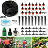 25M DIY Micro Drip Irrigation System Automatic Watering Garden Hose Watering Kit