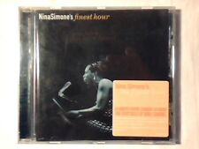 NINA SIMONE 'S finest hour cd GEORGE GERSHWIN JACQUES BREL BILLIE HOLIDAY