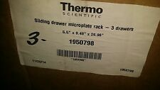 Thermo Scientific  1950798 - SLIDING DRAWER MICROPLATE RACK 5.5 X 9.48 X 26.96