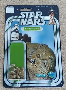 Vintage Star Wars DEWBACK DUNG NOVELTY ITEM STORMTROOPER NOT AFA