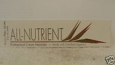 ALL NUTRIENT Professional Cream Hair Color w/ Natural Botanical Extracts ~3.5 oz