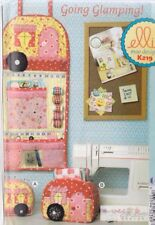 PATTERN - Going Glamping! - fun sewing accessory PATTERN - Ellie Mae Designs