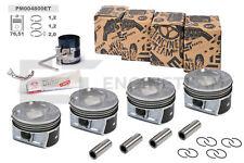 4x Kolben Reparatursatz STD Ø 76,51 mm VW AUDI SKODA SEAT 1,4 TFSI 03C107065AP