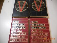 LES GRANDS ESPIONS + DICTIONNAIRE DE LA SECONDE GUERRE MONDIALE HISTORAMA 1971