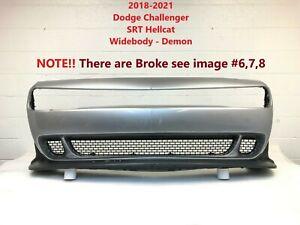 2018 2019 2020 2021 dodge challenger SRT hellcat widebody -demon front bumper 20
