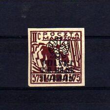 """POLOGNE Oflag Camp de Murnau Bloc """"D"""" Fischer timbre n° 6 neuf sans gomme"""