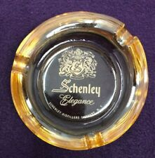 Schenley Elegance Ny Alcohol Distillery Tobacciana Peach Ashtray