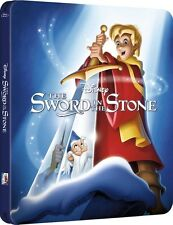 The Sword In The Stone Limited Edition Steelbook Bluray UK Exclusive NEW SEALED
