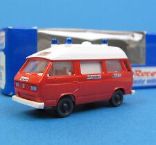 Roco H0 1436 VW T3 Bus Feuerwehr Rettungsdienst Krankenwagen RTW KTW HO 1:87 OVP