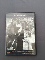 DVD ¡QUE BELLO ES VIVIR! James Stewart Donna Reed Lionel Barrymore FRANK CAPRA