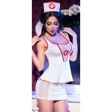 Lingerie Femme - Déguisement Sexy - Déguisement Sexy infirmière 4 pièces