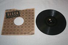 "DECCA Records 10"" 78 * GUY LOMBARDO * Scotch Hot / Dangerous Dan McGrew"
