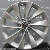 "GENUINE VOLKSWAGEN SCIROCCO INTERLAGO TURBINE 18""INCH SINGLE ALLOY WHEEL X1"
