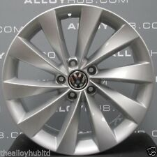 "GENUINE VOLKSWAGEN PASSAT CC INTERLAGO TURBINE 18""INCH SINGLE ALLOY WHEEL X1"